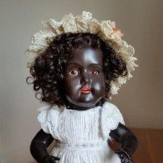 Muñecas Porcelana: MUÑECA ARMAND MARSEILLE 390 NEGRA 41 CM.. Lote 143011818
