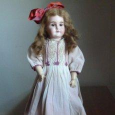 Muñecas Porcelana: MUÑECA QUENN LOUISE DE ARMAND MARSEILLE DE 60 CM. Lote 143013942