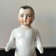 Muñecas Porcelana: FROZEN CHARLIE O PUPPENBADE DE PORCELANA DE PRINCIPIO S.XX 21 CM. Lote 143015770