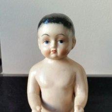 Muñecas Porcelana: FROZEN CHARLIE O PUPPENBADE DE PORCELANA AÑOS 30 16 CM. Lote 143015854