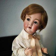 Muñecas Porcelana: PRECIOSO BEBE SIMON HALBIG 117 GERMANY ,PRINCIPIO SIGLO XX 50 CM . Lote 143183366