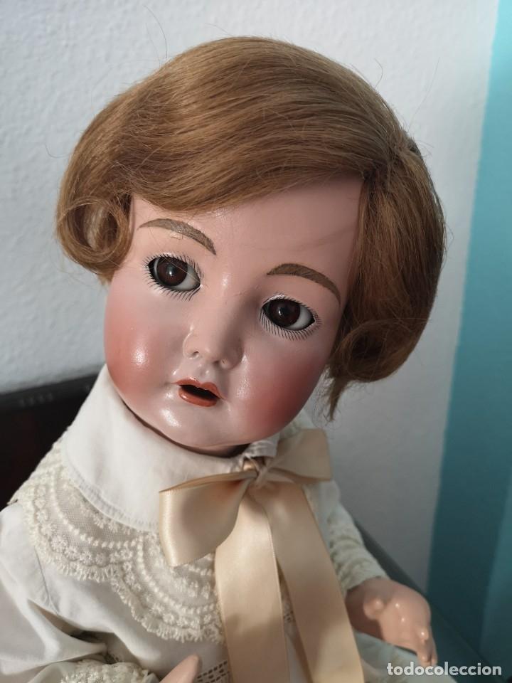 Muñecas Porcelana: PRECIOSO BEBE SIMON HALBIG 117 GERMANY ,PRINCIPIO SIGLO XX 50 CM - Foto 3 - 143183366