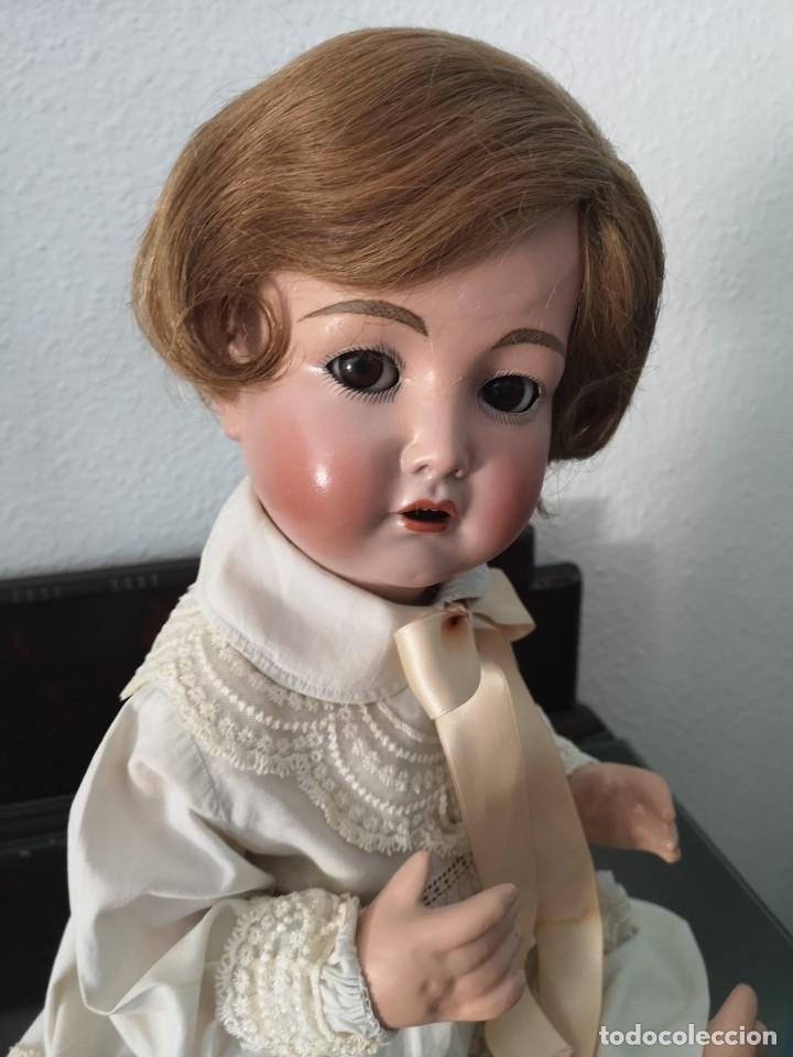 Muñecas Porcelana: PRECIOSO BEBE SIMON HALBIG 117 GERMANY ,PRINCIPIO SIGLO XX 50 CM - Foto 4 - 143183366
