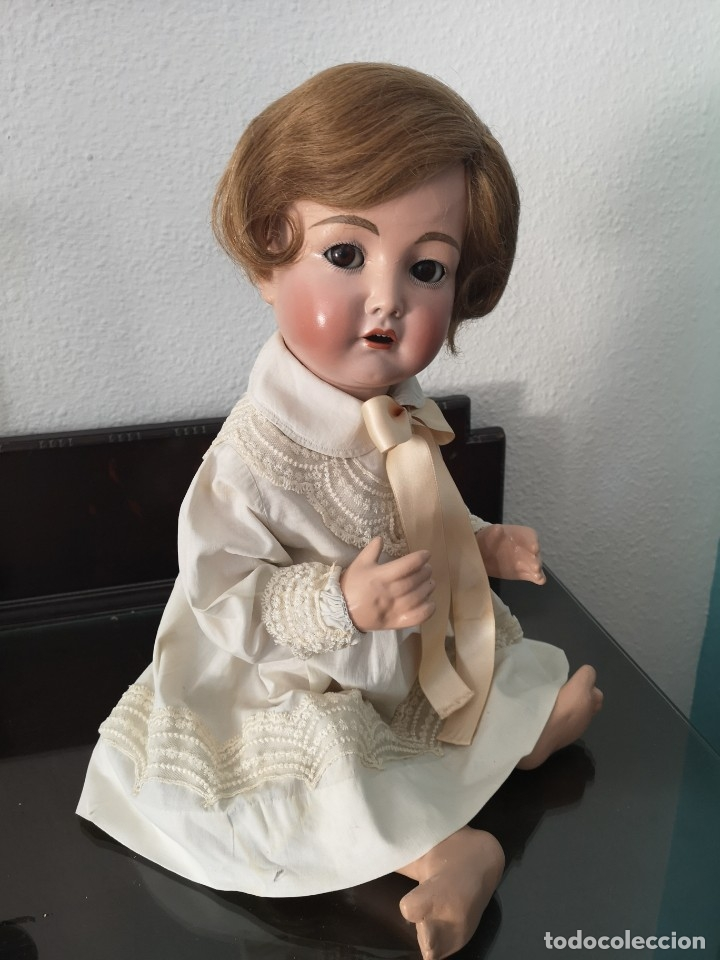 Muñecas Porcelana: PRECIOSO BEBE SIMON HALBIG 117 GERMANY ,PRINCIPIO SIGLO XX 50 CM - Foto 5 - 143183366