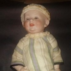 Muñecas Porcelana: MUÑECO BEBE BISCUIT ALEMAN FIRMADO FRANZ SCHMIDT 1800. Lote 144631490