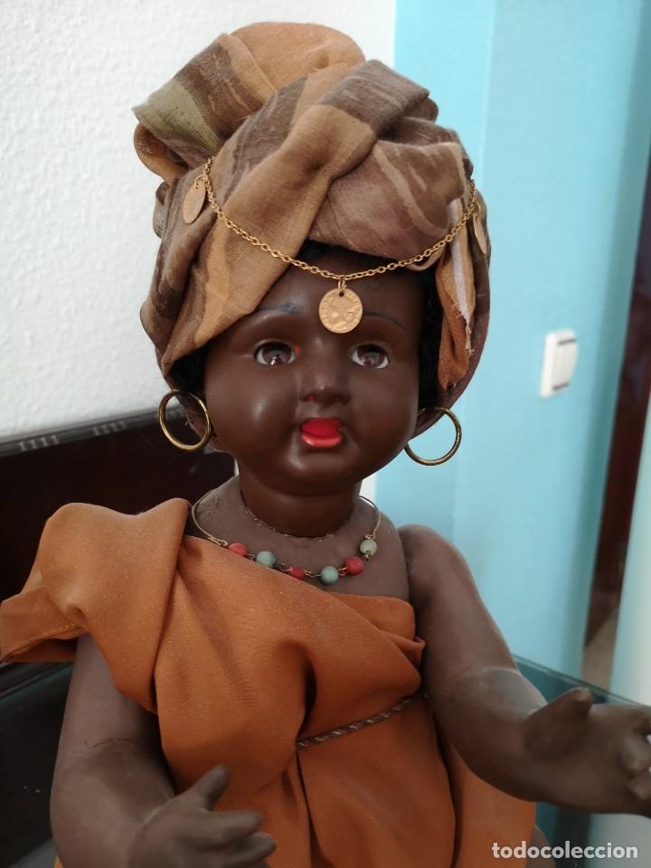 Muñecas Porcelana: PRECIOSO BEBE ALEMÁN ,VESTIDO DE ÁRABE AÑOS 30 ,45CM - Foto 2 - 145596134