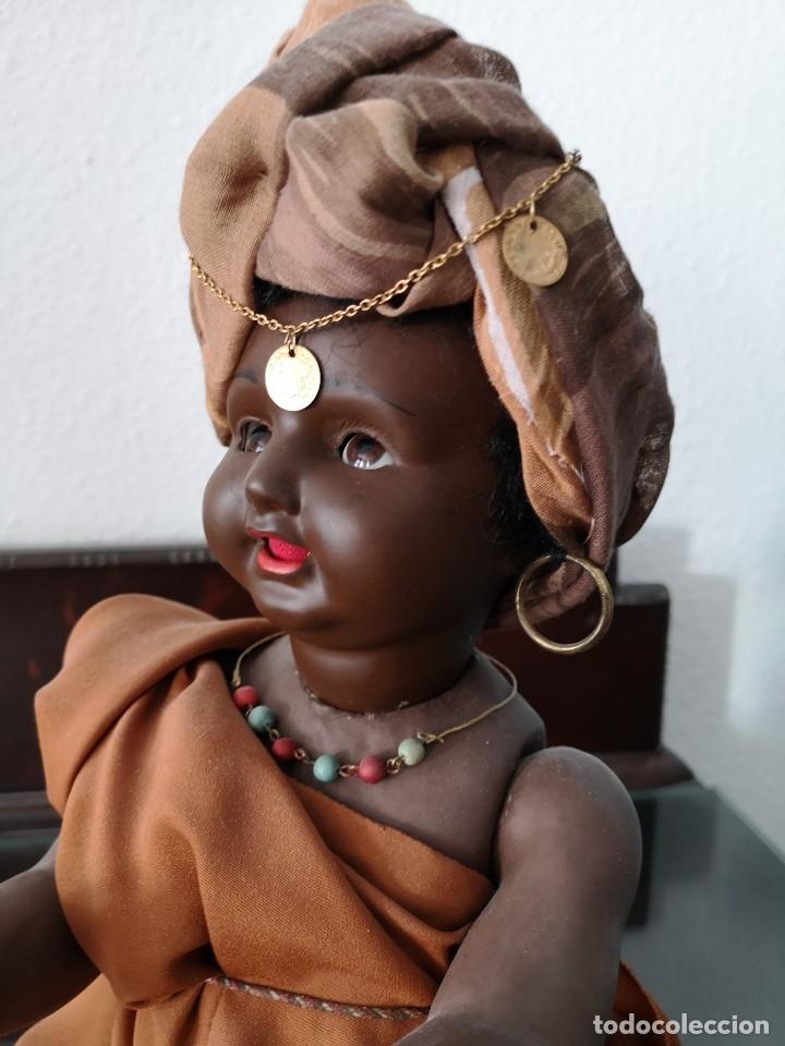 Muñecas Porcelana: PRECIOSO BEBE ALEMÁN ,VESTIDO DE ÁRABE AÑOS 30 ,45CM - Foto 3 - 145596134