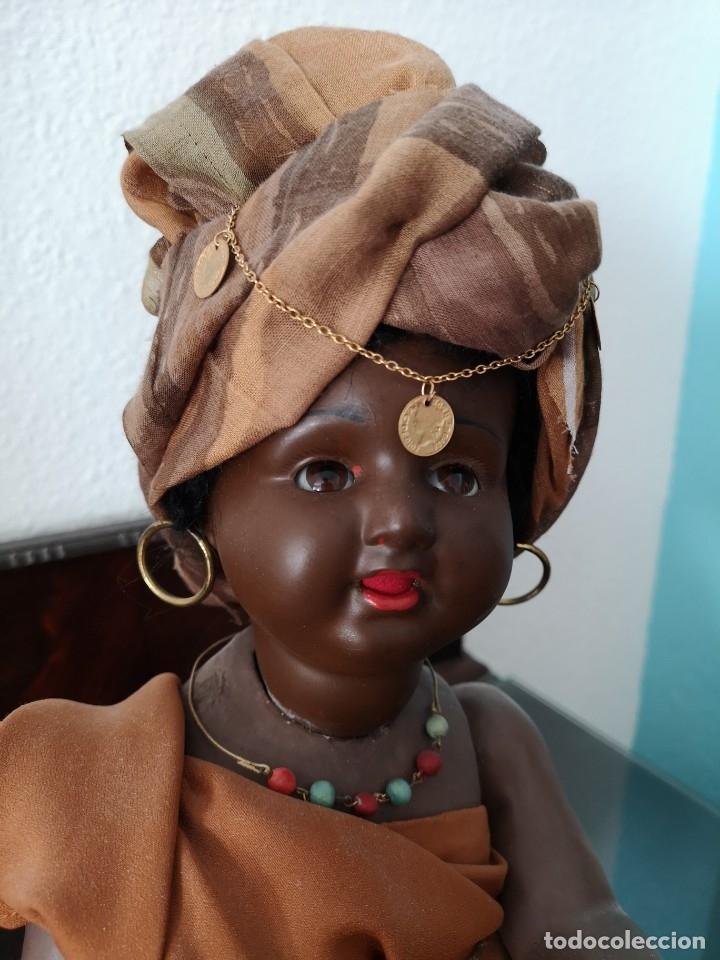 Muñecas Porcelana: PRECIOSO BEBE ALEMÁN ,VESTIDO DE ÁRABE AÑOS 30 ,45CM - Foto 5 - 145596134