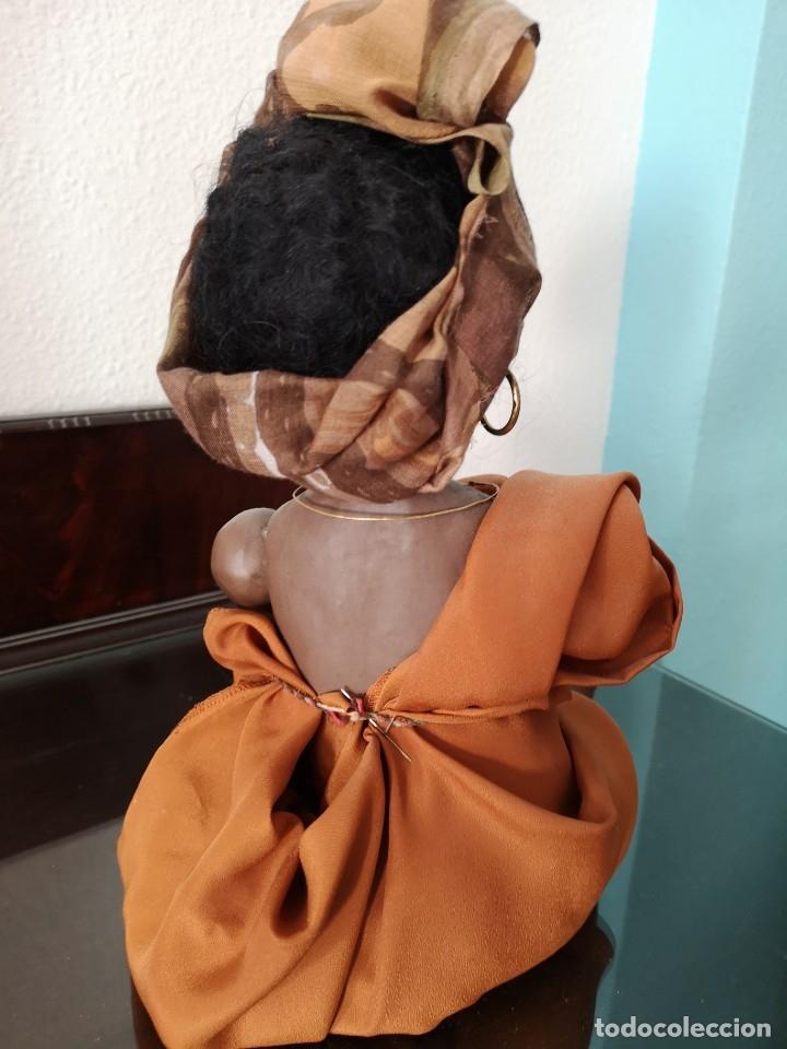 Muñecas Porcelana: PRECIOSO BEBE ALEMÁN ,VESTIDO DE ÁRABE AÑOS 30 ,45CM - Foto 6 - 145596134
