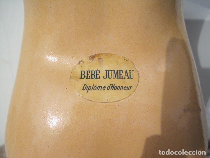 Muñecas Porcelana: PRECIOSA MUÑECA DE PORCELANA SIMON & HALBIG DEP 1039, CUERPO JUMEAU DIPLOME DHONEUR 53 CM APROX. - Foto 5 - 55099415