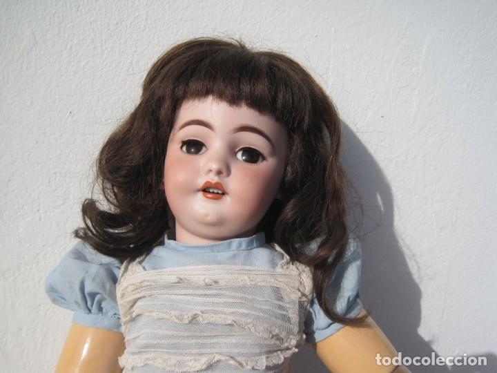 Muñecas Porcelana: PRECIOSA MUÑECA DE PORCELANA SIMON & HALBIG DEP 1039, CUERPO JUMEAU DIPLOME DHONEUR 53 CM APROX. - Foto 7 - 55099415