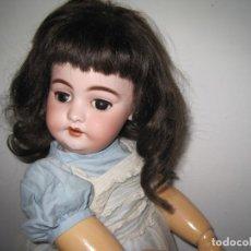Bonecas Porcelana: PRECIOSA MUÑECA JUMEAU, CABEZA EN BISCUIT SIMON & HALBIG DEP 1039, JUMEAU DIPLOME D'HONEUR 53 CM.. Lote 55099415