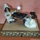 Muñecas Porcelana: ANTIGUO AUTOMATA ALEMANA CONCIERTO DE MUÑECAS 1900. Lote 147369282