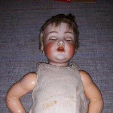 Muñecas Porcelana: MUÑECA CABEZA DE PORCELANA CARACTER SIMON HALBIG,GERMANY 126/96,OJOS MOVIL,VER DESCRIPCION Y FOTOS. Lote 148296550