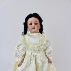Muñecas Porcelana: MUÑECA CON CABEZA DE PORCELANA MARCADA EN LA NUCA ARMAND MARSEILLE 370 A. 5/0 M. GERMANY.. Lote 150077226