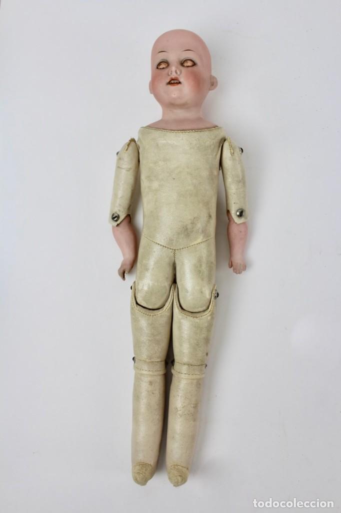 Muñecas Porcelana: MUÑECA CON CABEZA DE PORCELANA MARCADA EN LA NUCA ARMAND MARSEILLE 370 A. 5/0 M. GERMANY. - Foto 7 - 150077226