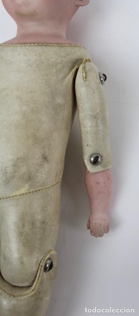Muñecas Porcelana: MUÑECA CON CABEZA DE PORCELANA MARCADA EN LA NUCA ARMAND MARSEILLE 370 A. 5/0 M. GERMANY. - Foto 8 - 150077226