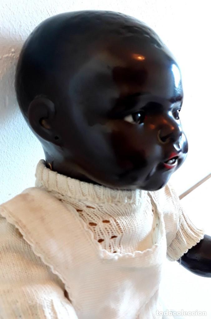 Muñecas Porcelana: MUÑECO ALEMAN ARMAND MARSELLE - BEBE NEGRO EN PORCELANA N .3 - Foto 4 - 154466904