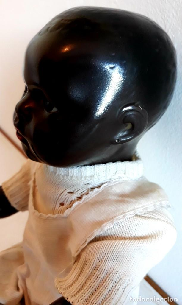 Muñecas Porcelana: MUÑECO ALEMAN ARMAND MARSELLE - BEBE NEGRO EN PORCELANA N .3 - Foto 5 - 154466904