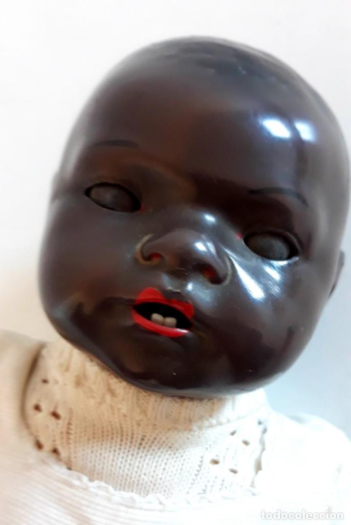 Muñecas Porcelana: MUÑECO ALEMAN ARMAND MARSELLE - BEBE NEGRO EN PORCELANA N .3 - Foto 6 - 154466904