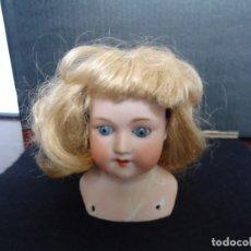 Muñecas Porcelana: CABEZA DE MUÑECA DE PORCELANA A. M.. Lote 151072226