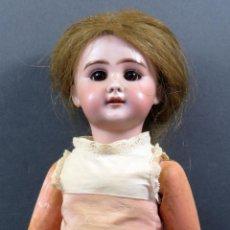 Muñecas Porcelana - Muñeco porcelana alemana DEP cuerpo articulado composición ojo fijo PP S XX 40 cm alto - 151981386