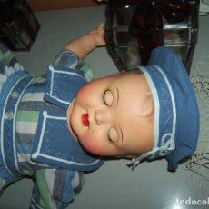 Muñecas Porcelana - Precioso bebé alemán, 57 cm cabeza cerámica - 152009674