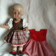 Muñecas Porcelana: MUÑECA ALEMANA TORTUGA. Lote 152232497