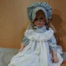 Muñecas Porcelana: MUÑECA ALEMANA. AÑOS 50-60. CARITA DE PORCELANA.. Lote 152287410