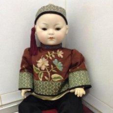 Muñecas Porcelana: MUÑECO ORIENTAL MARCADO EN LA NUCA. Lote 153678394