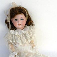 Muñecas Porcelana: MUÑECA ALEMANA ARMAND MARSELLE 390 CARA EN PORCELANA Y CUERPO EN CARTÓN PIEDRA P.S.XX-55 CM. Lote 153700430