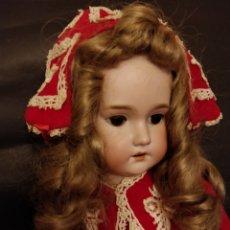 Muñecas Porcelana: MUÑECA ANTIGUA C.M. BERGMANN 60 CM. Lote 153984029