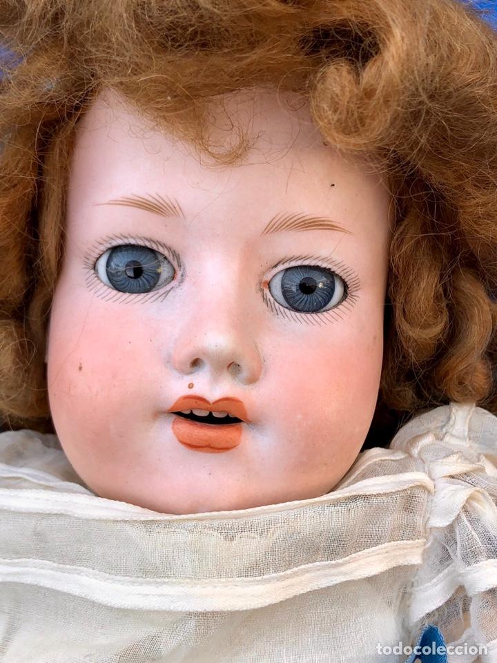 Muñecas Porcelana: Antigua muñeca cabeza porcelana Armand Marseille 390 A 5. M / altura 58 cm aprox. - Foto 3 - 154502353