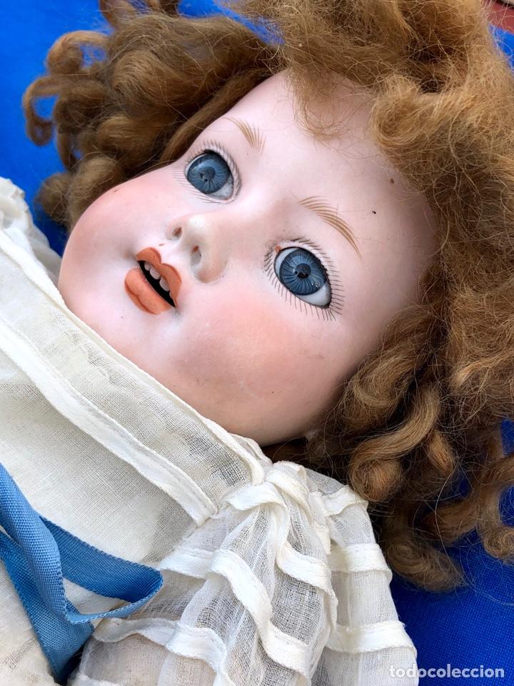 Muñecas Porcelana: Antigua muñeca cabeza porcelana Armand Marseille 390 A 5. M / altura 58 cm aprox. - Foto 4 - 154502353