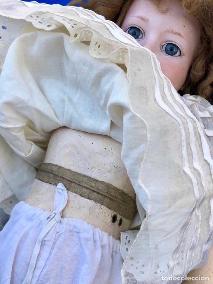 Muñecas Porcelana: Antigua muñeca cabeza porcelana Armand Marseille 390 A 5. M / altura 58 cm aprox. - Foto 5 - 154502353