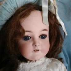 Muñecas Porcelana: MUÑECA PORCELANA QUEEN LOUISE 59CM DE ARMAND MARSEILLE. Lote 154631258