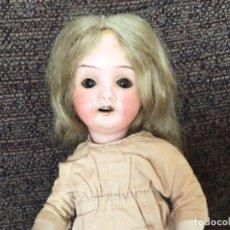 Muñecas Porcelana: MUÑECA ALEMANA CABEZA MARCADA GERMANY 21, 14 CUERPO REPRO 19 CM . Lote 154646602