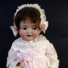 Muñecas Porcelana: MUÑECA SIMON AND HALBIG CABEZA EN PORCELANA CON CUERPO EN CARTÓN PIEDRA AÑOS 20-30-47 CM. Lote 154852570