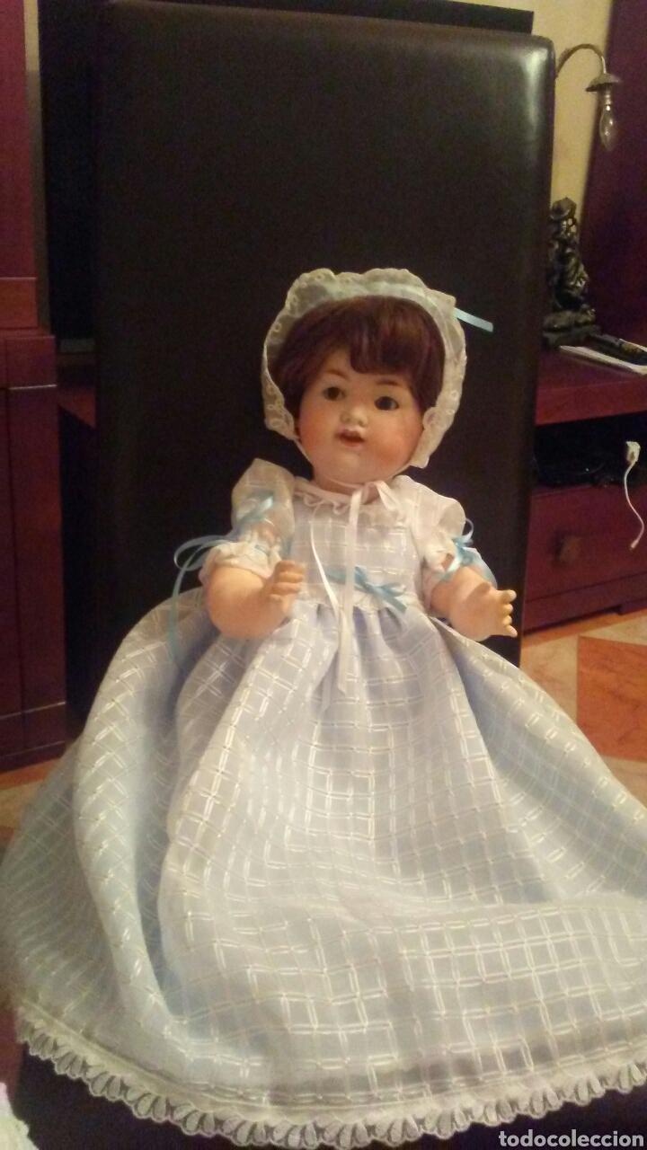 Muñecas Porcelana: Antiguo muñeco Armand Arsell años 40 ,ver fotos y leer descripcion . - Foto 15 - 155316468