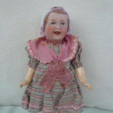 Muñecas Porcelana: ANTIGUA MUÑECA ALEMAÑA RECKNAGEL. Lote 155343062