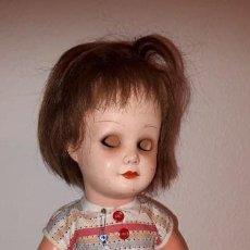 Muñecas Porcelana: MUÑECA DE BAQUELIA CELULOIDE ALEMANA K & W NUMERADA DE 151 LA NU 45. Lote 155470370