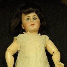 Muñecas Porcelana: MUÑECA ANTIGUA SIMON & HALBIG 939. CABEZA PORCELANA, CUERPO ARTICULADA COMPOSICIÓN.. Lote 155567606