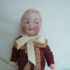 Muñecas Porcelana: MUÑECO DE PORCELANA ANTIGUO HEUBACH. Lote 155774714