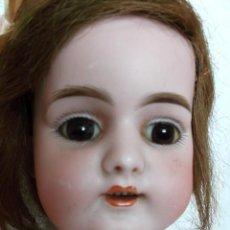 Muñecas Porcelana: PRECIOSA SIMON & HALBIG 1079 PARA EL MERCADO FRANCÉS CUERPO JUMEAU, 40 CM. Lote 156595586