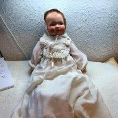 Muñecas Porcelana: MUÑECO CABEZA DE CARTÓN ALEMANA, 45 CM. Lote 157311706