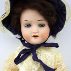 Muñecas Porcelana: MUÑECA SCHOENAU & HOFFMEISTER 1909 - 2 - CUERPO FLAPPER - CABEZA PORCELANA - GERMANY. Lote 157764506