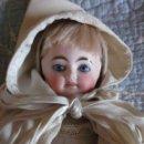 Muñecas Porcelana: EXCEPCIONAL MUÑECA DE BISCUIT DE DOS CARAS C. BERGNER, TODA DE ORIGEN, HACIA 1900. Lote 158225538
