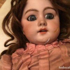 Muñecas Porcelana: ANTIGUA MUÑECA ALEMANA DE PORCELANA DEP NECESITA RESTAURACIÓN. Lote 158710222