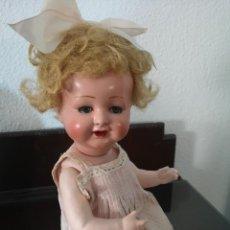 Muñecas Porcelana: PRECIOSA MUÑECA ALEMANA BEBE ,MARCADA EN LA NUCA ,AÑOS 30. Lote 162976670
