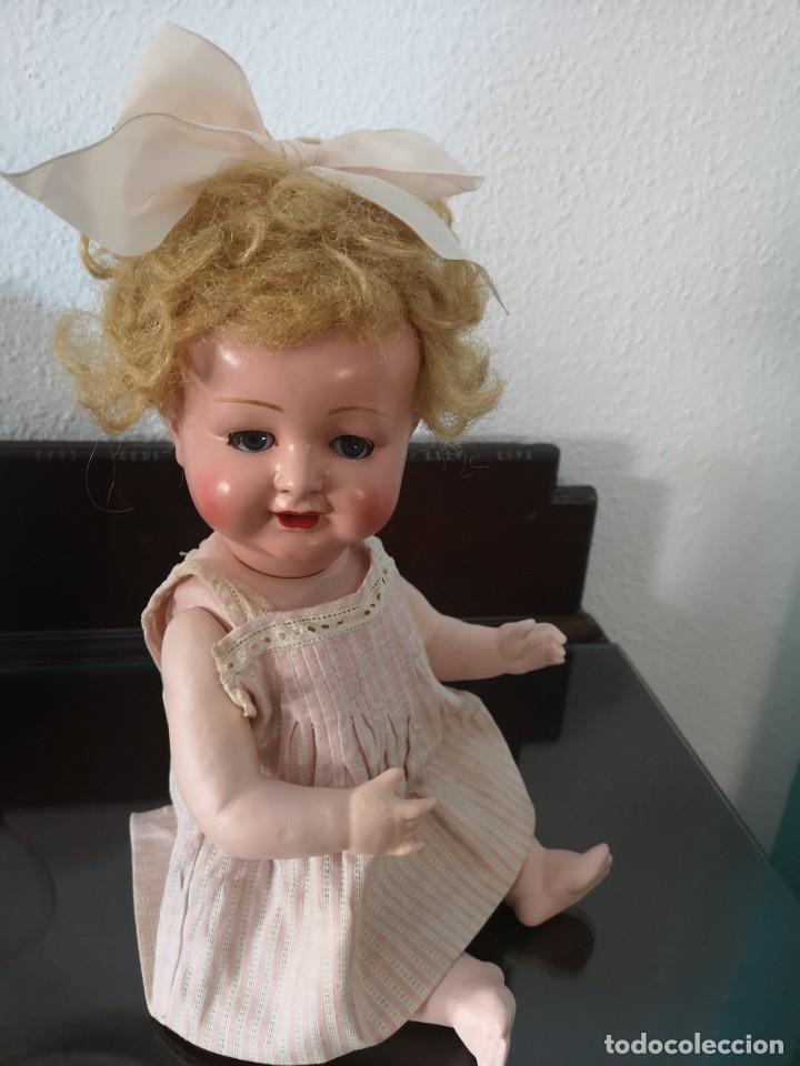 Muñecas Porcelana: PRECIOSA MUÑECA ALEMANA BEBE ,MARCADA EN LA NUCA ,AÑOS 30 - Foto 2 - 162976670